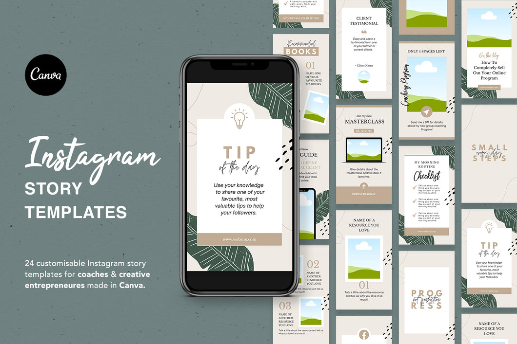 24 Instagram Story Templates For Coaches