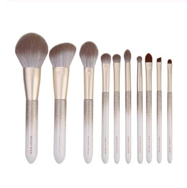 ENZO KEN 10 pcs Makeup Brushes Set