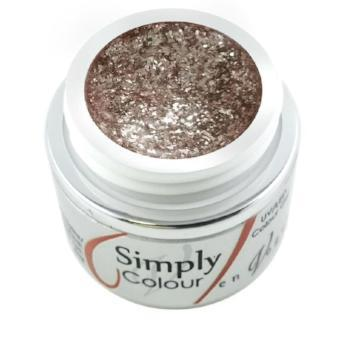 Simply Specialty Glitter Gel - Rose Gold