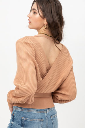 Sweet On You Ribbon Tie Sweater