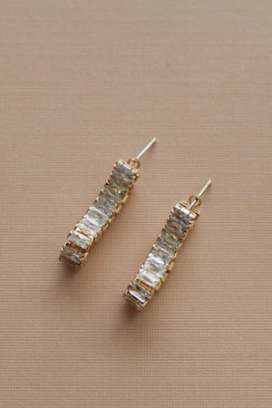Felicity Rhinestone Convertible Earrings