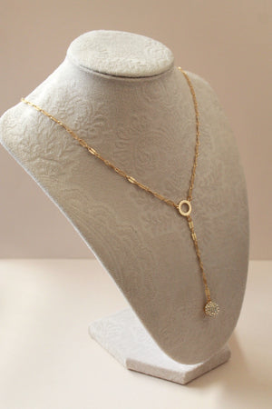 Bijou Drop Chain Layered Necklace
