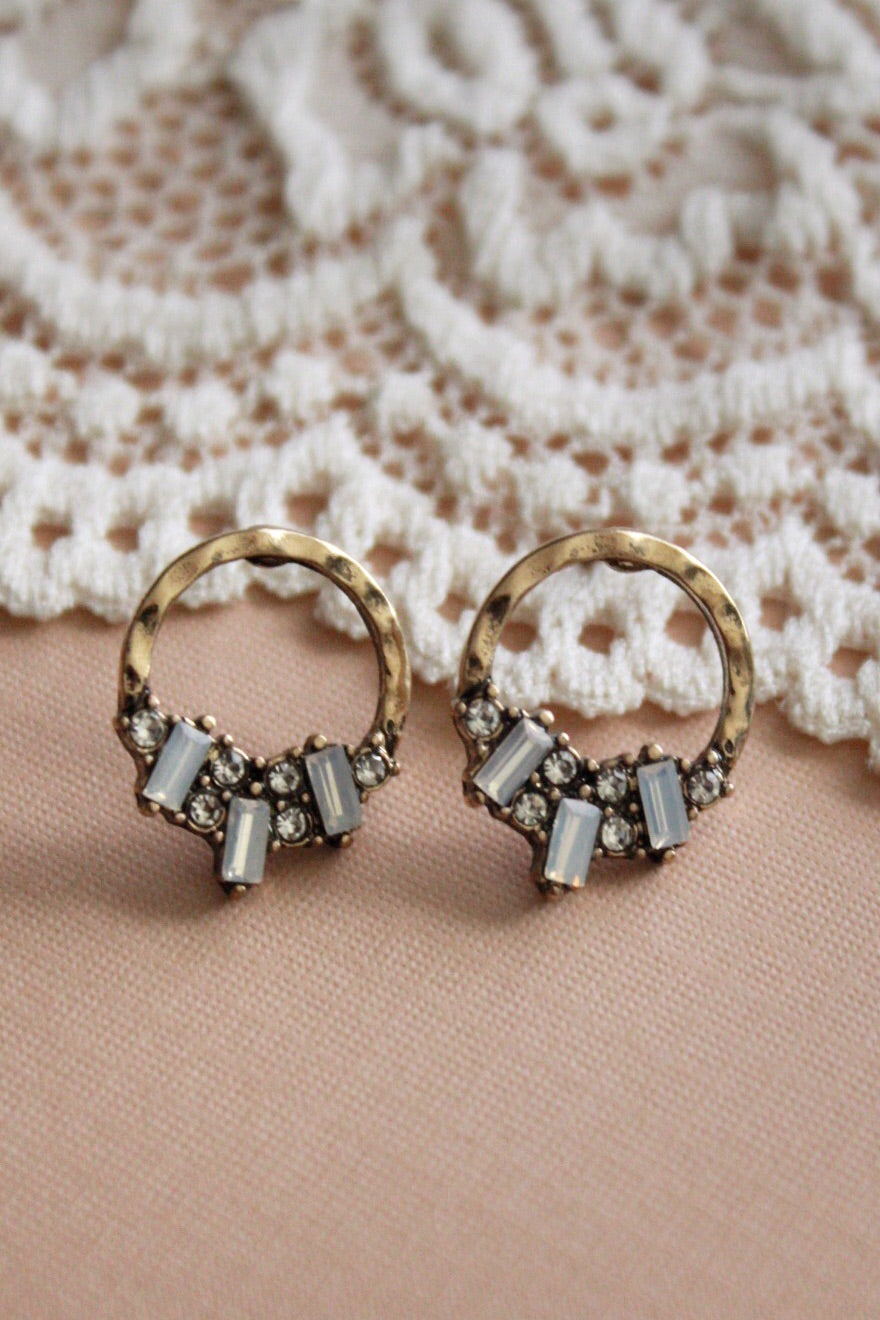 Serein Small Circle Earrings
