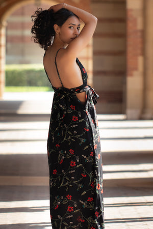 In Love Floral Maxi Dress