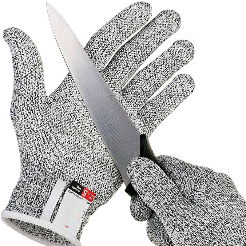Anti-cut Safety Gloves - Resistant Stainless Steel Wire Metal Mesh - Bustle Corner