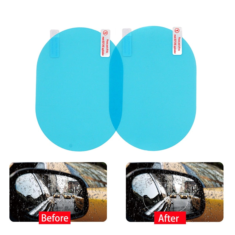 Car Rear Rainproof Anti Fog Protective Film - Bustle Corner