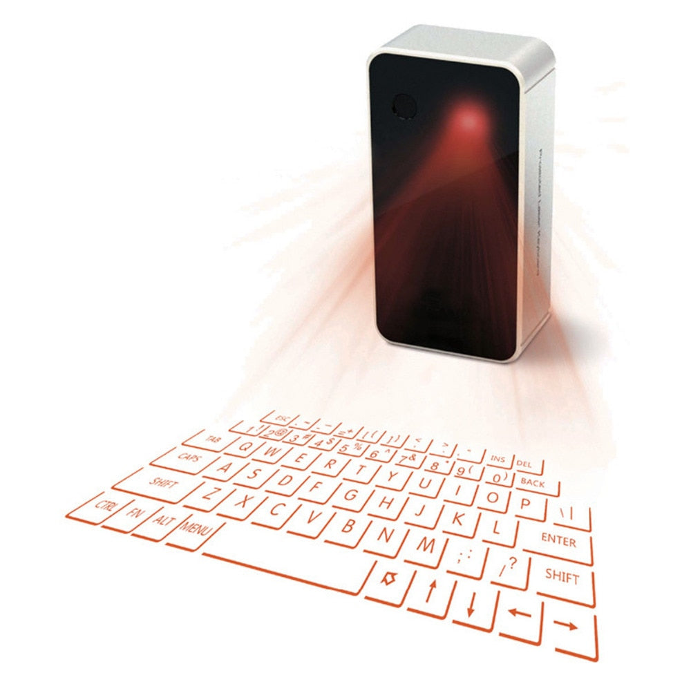 Keyboard Laser Bluetooth - Bustle Corner