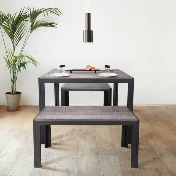 Zenvida 3 piece dining set