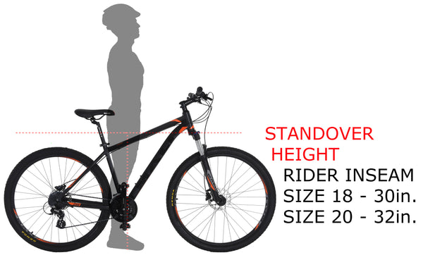 29er Standover Height