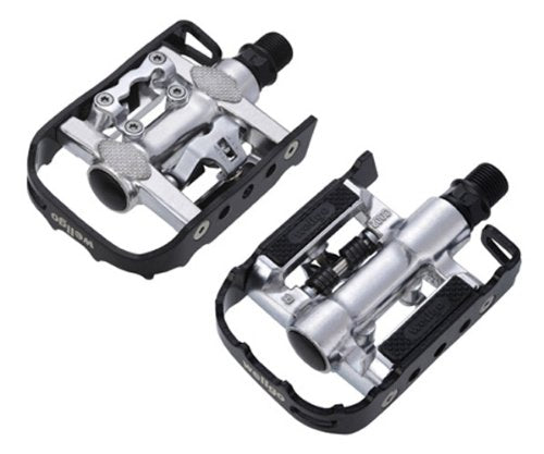 Wellgo Shimano SPD Compatible Cleat Set Fits most Shoes For Clip less Pedals NEW