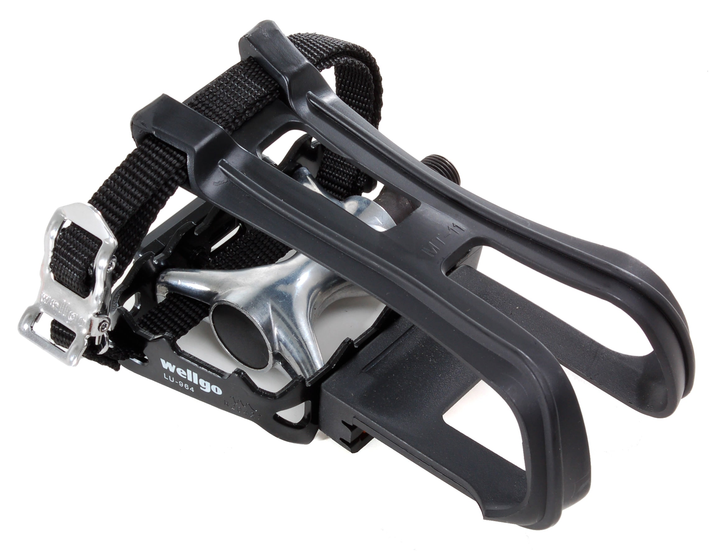 Pinnacle Toe Clips With Straps