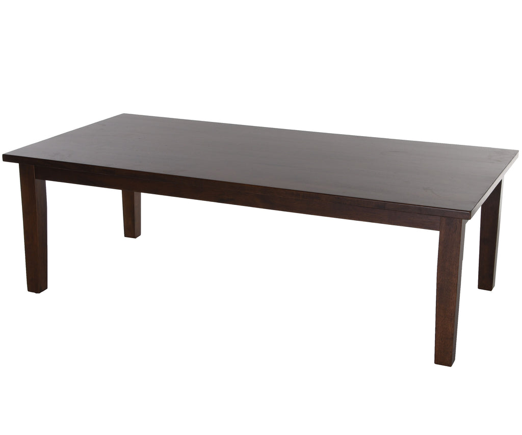 Zenvida Coffee Table Modern Solid Wood