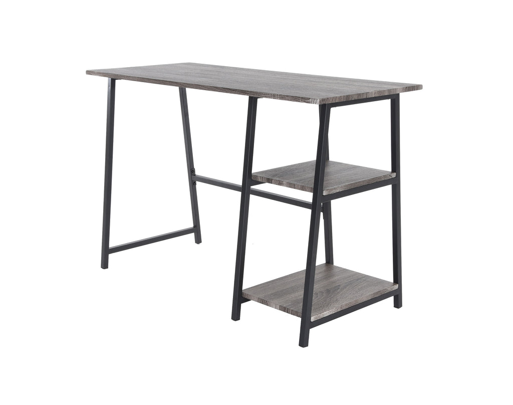 Zenvida Home Office Computer Desk With Shelves
