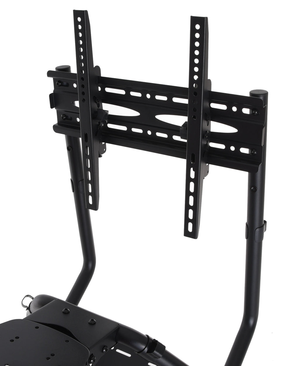 Conquer Single Monitor Mount for Racing Simulator Cockpit Gaming Seat