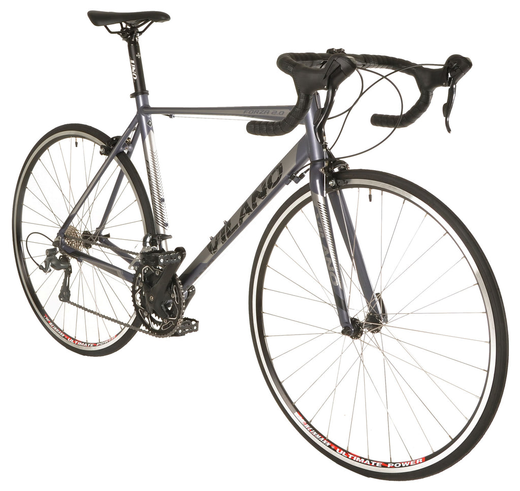 Vilano FORZA 2.0 Aluminum Carbon Road Bike with Shimano Tiagra STI