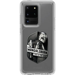 Samsung Galaxy Symmetry Series Clear: The Mandalorian Code