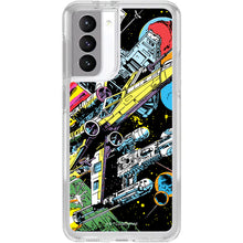 Load image into Gallery viewer, Samsung Galaxy Symmetry Series Clear Case: Rebel Fleet