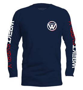 "TEAM ""W"" LONG SLEEVE TEE"