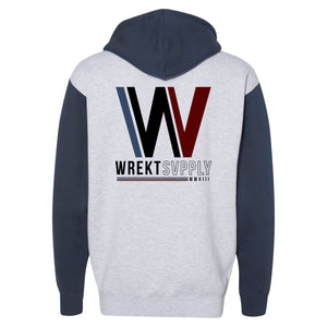 "TRI ""W"" PULLOVER HOODIE"