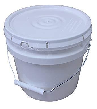 10lb Raw Honey Pail Ships Free!