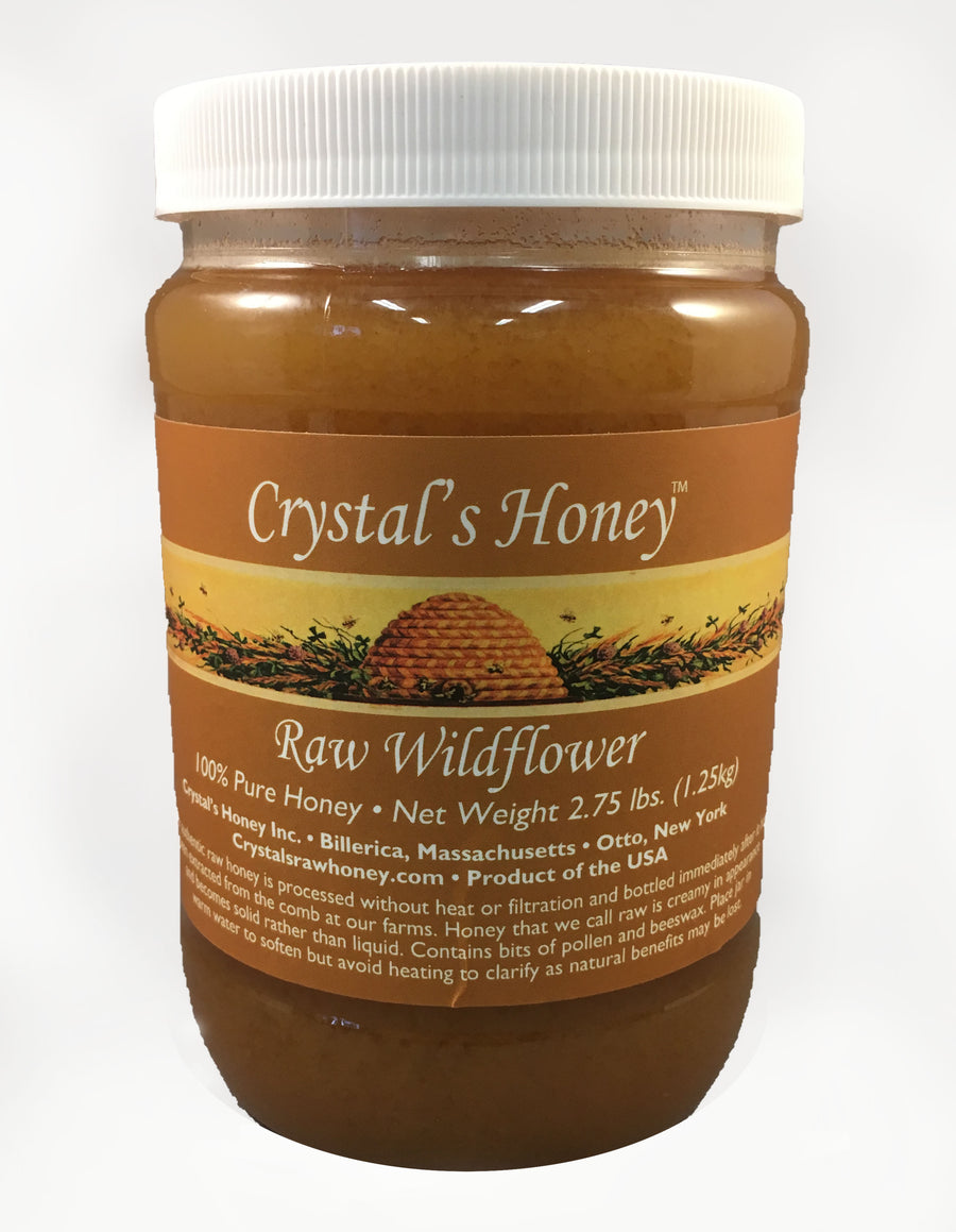 2.75 lb Raw Wildflower Jar