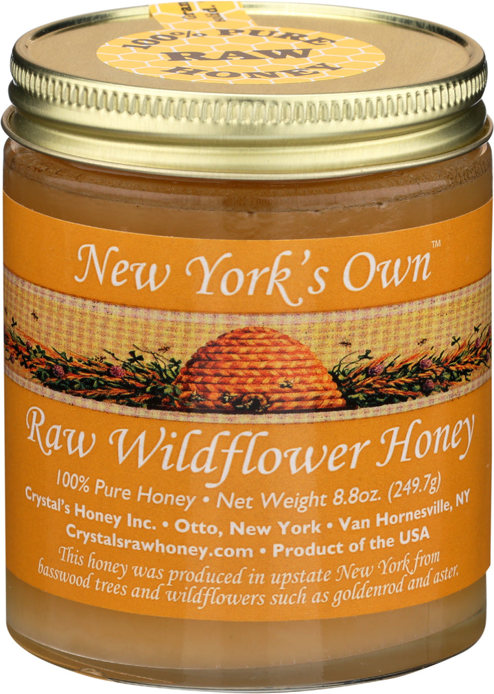 New York Raw Wildflower Honey 8.8oz
