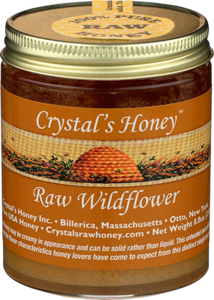 Raw Wildflower Honey 8.8 oz