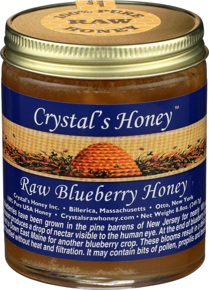 Raw Blueberry Honey 8.8 oz.