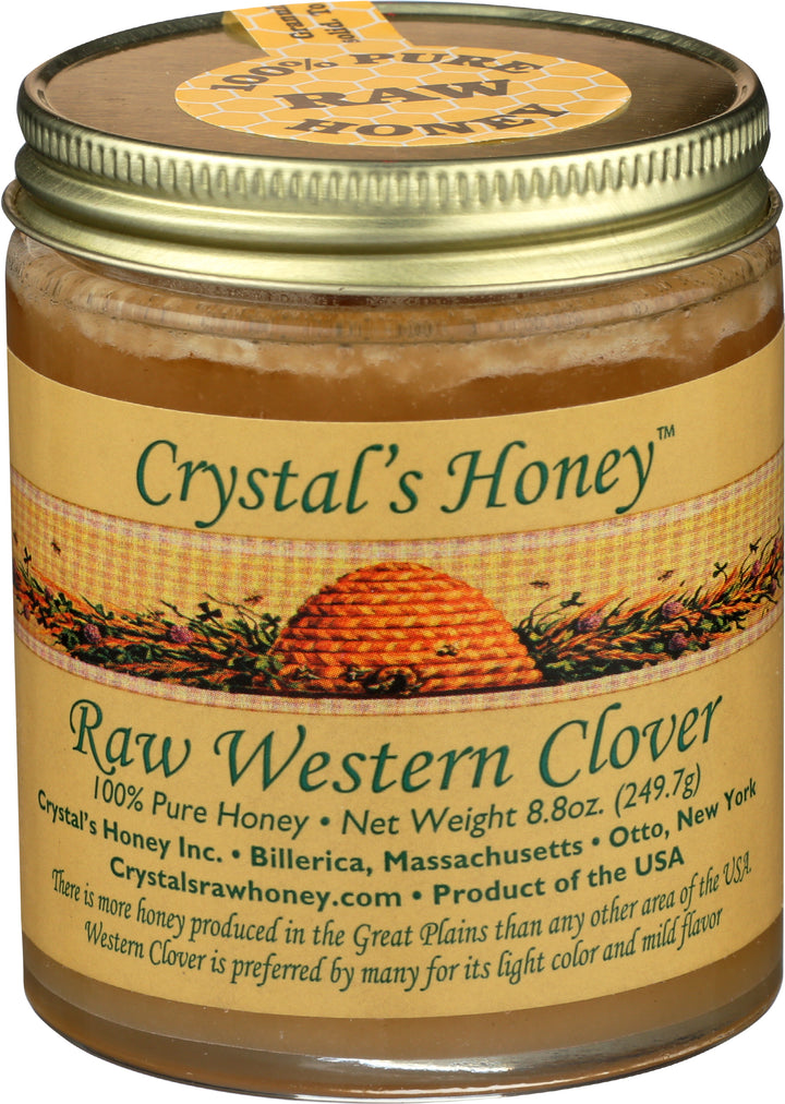 Raw Western Clover Honey 8.8 oz