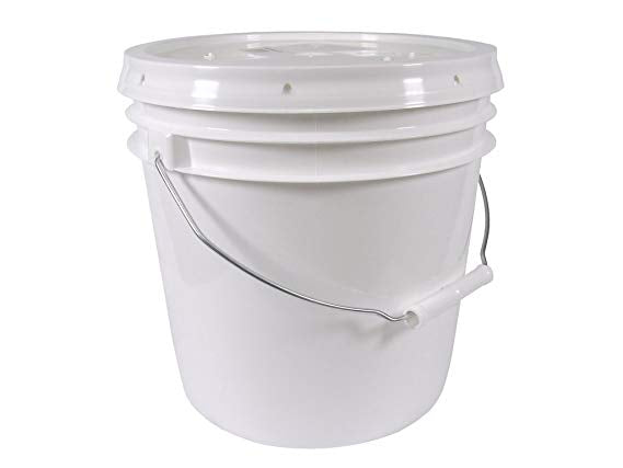 60 lb Bulk Raw Honey Pail