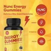 Load image into Gallery viewer, Energy Gummies - 2 Bottles