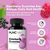 Load image into Gallery viewer, Elderberry Gummies - 2 Bottles