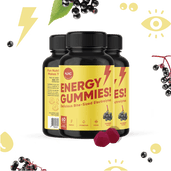 Load image into Gallery viewer, NUNC - Energy Gummies - 3 Bottles.