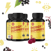 Load image into Gallery viewer, Energy Gummies - 4 Bottles