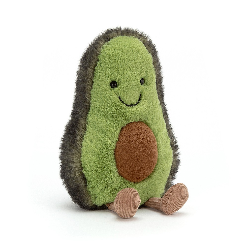 Mr Avocado Plush Keychain - HiBlendr