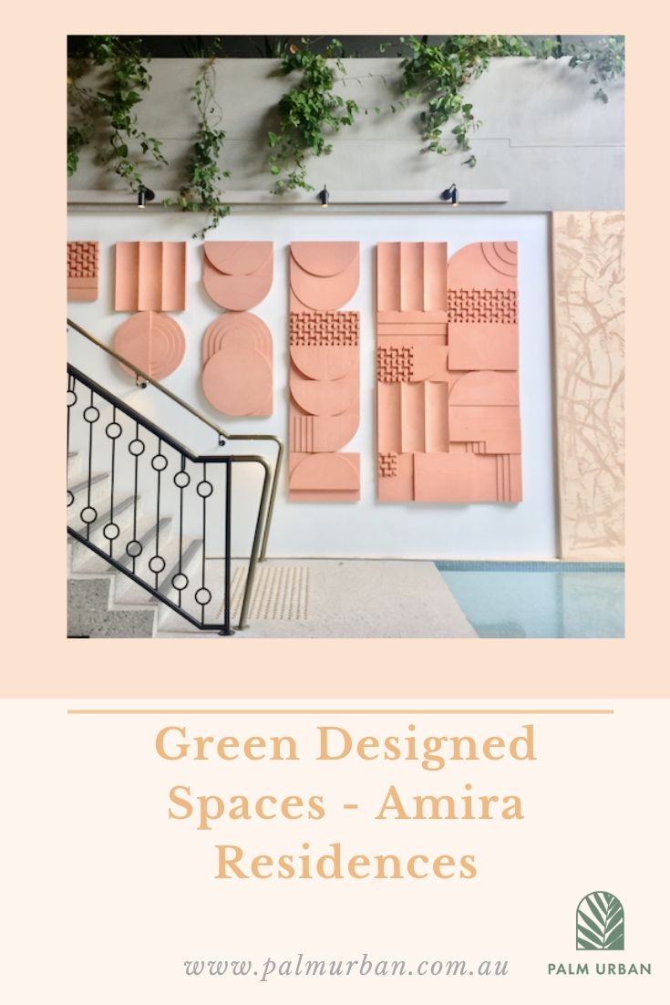 Green Designed Spaces photo at Amira Residences. Palm Urban Branding