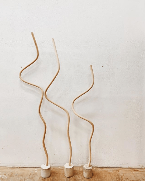Squiggle Standing - Katie Gong