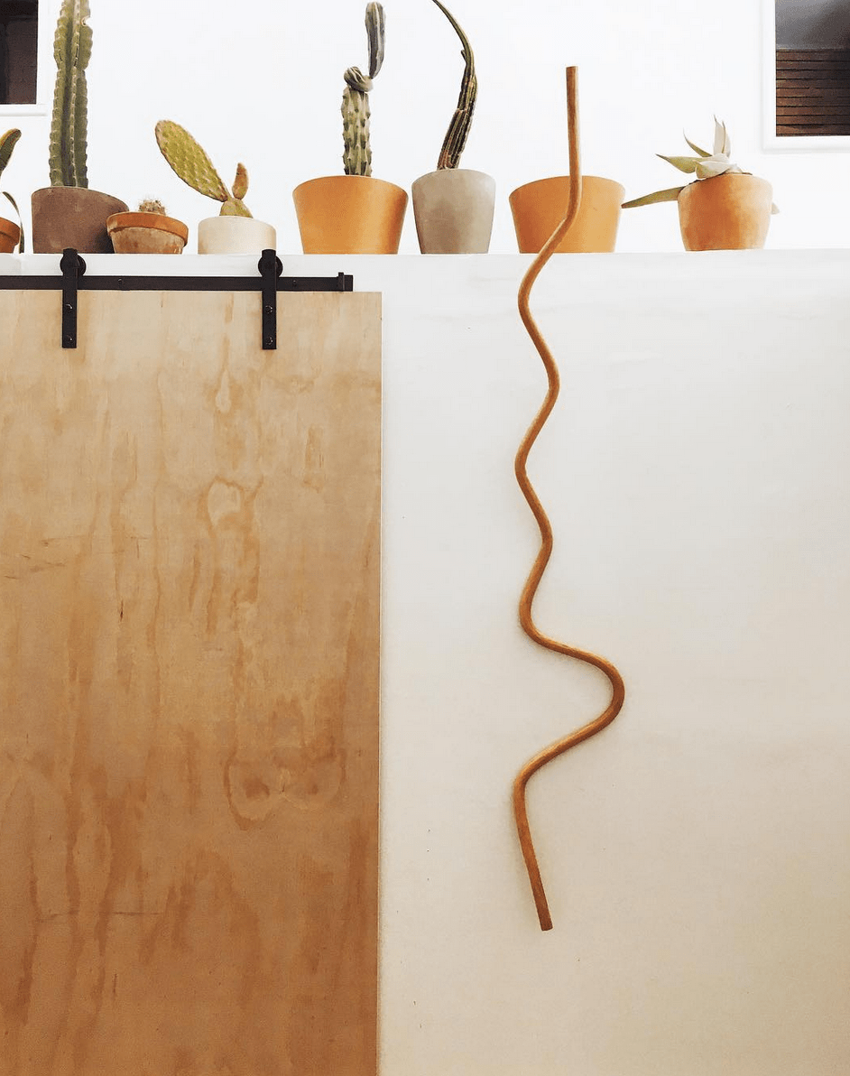 Squiggle Wall - Katie Gong