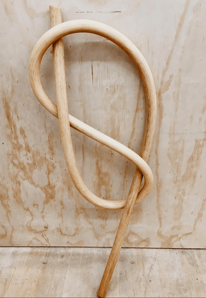 Wood Knot Figure Eight