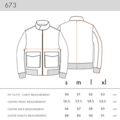NOMOI 673 Jacket Sizing