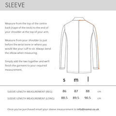 689 JACKET SLEEVE MEASUREMENT
