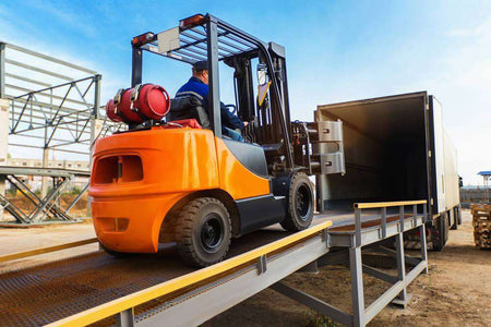 forklift and industrial tyres