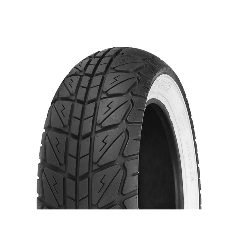 130/70-12 SR723 White Wall Shinko Rear Scooter Tyre