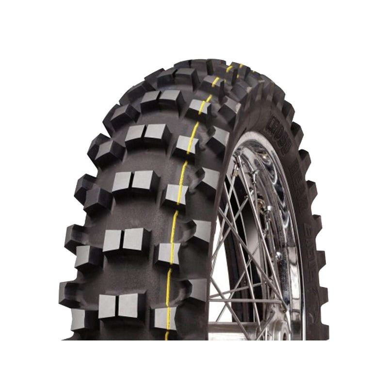 120/90-18 C18 Super Yellow Soft/Med Mitas Rear Tyre