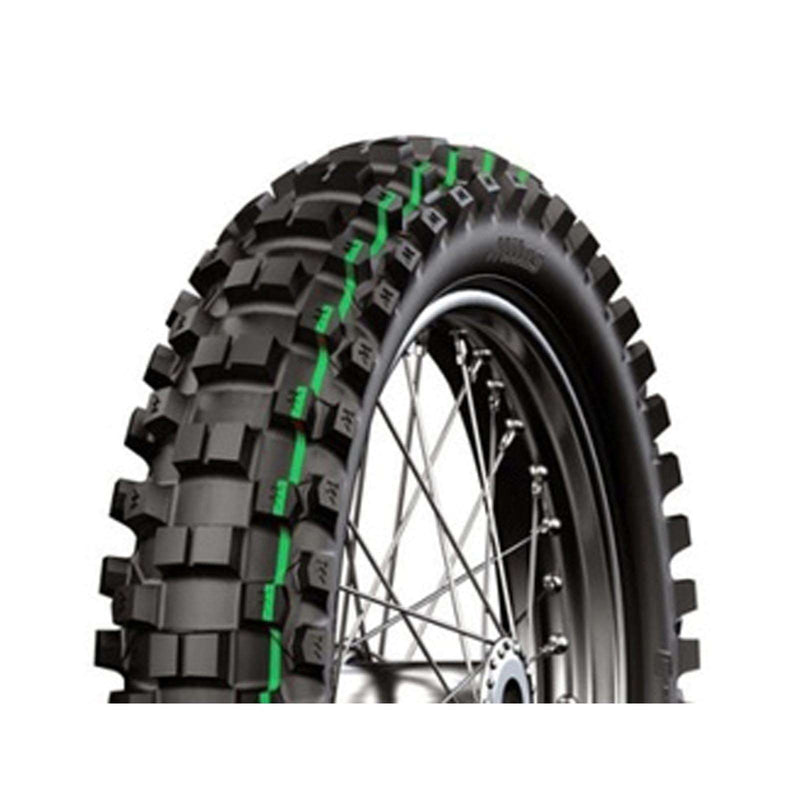 110/90-19 C18 Super Light Green Mitas Rear Tyre