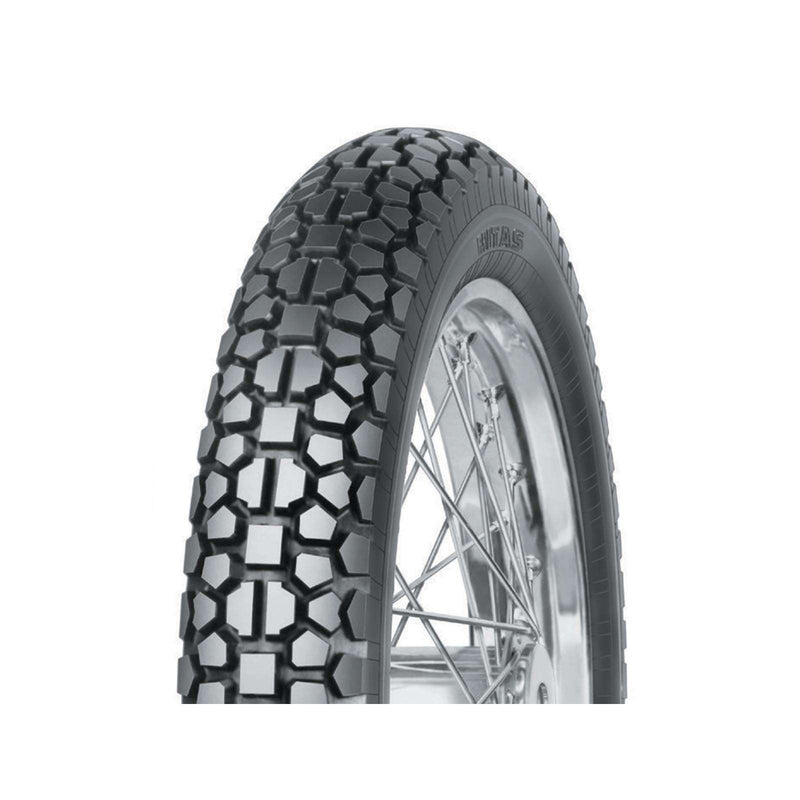 3.50-18 E03 Classic Reinf. Mitas Trails Rear Tyre