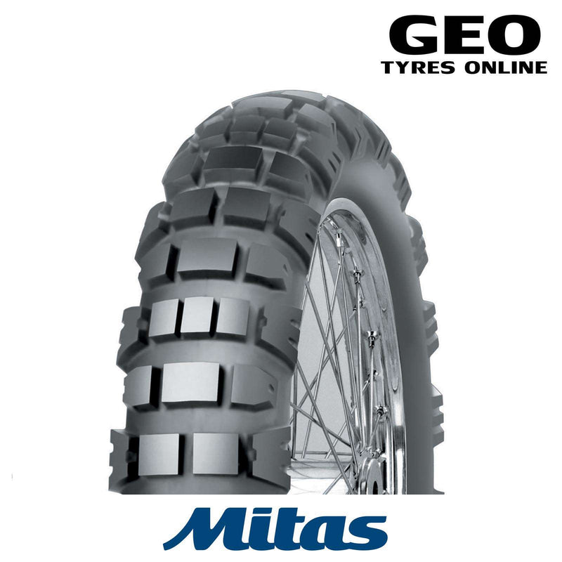 130/80-18 E09 Mitas Adventure Rear Tyre