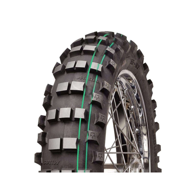 140/80-18 EF07 Super Soft Double Green Mitas Rear Tyre