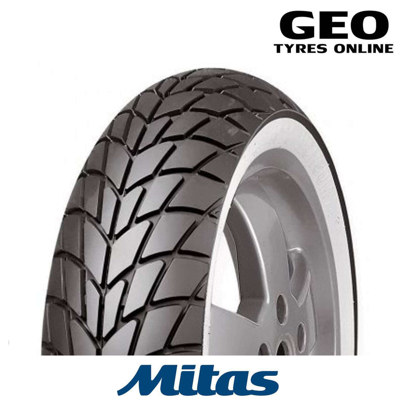 120/70-12 MC20 White Wall Mitas Scooter Tyre