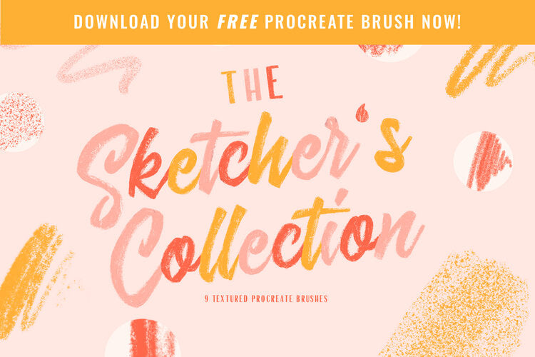 FREE Sketching Brush for Procreate